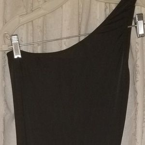 Black Dancer's Dress